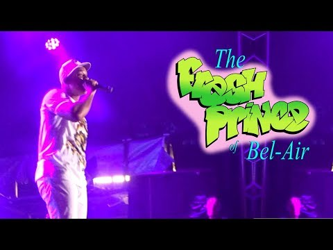 Will Smith - The Fresh Prince of Bel Air at Livewire Festival in Blackpool on 27.08.2017