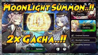 Epic Seven - 2x Moonlight Summon Gacha (Light/Dark Heroes)