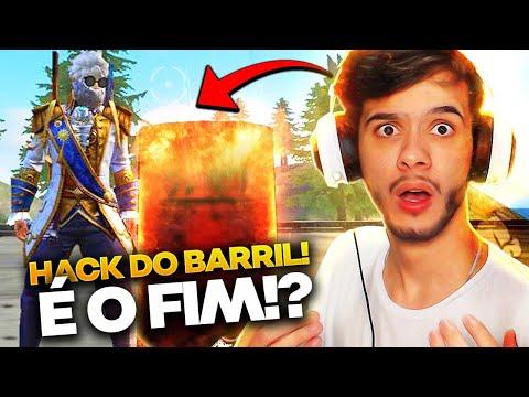 O FIM DO FREE FIRE!? NOVO HACK DO BARRIL É REAL?? REVELEI TUDO!
