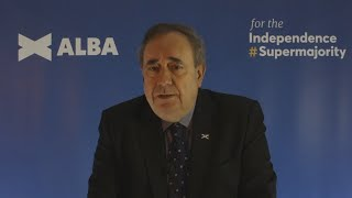 video: Alex Salmond returns to politics to lead new pro-independence Alba Party