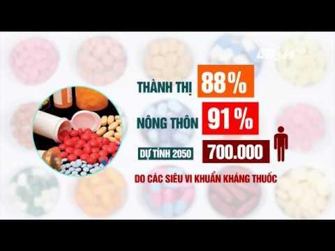 VTC14 | Tỷ lệ kháng kháng sinh ở Việt Nam cao nhất thế giới