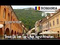 EP-5 Romania 🇷🇴| Brasov Old Town Tour | Main Tourist Attractions | Grocery prices| Eng CC