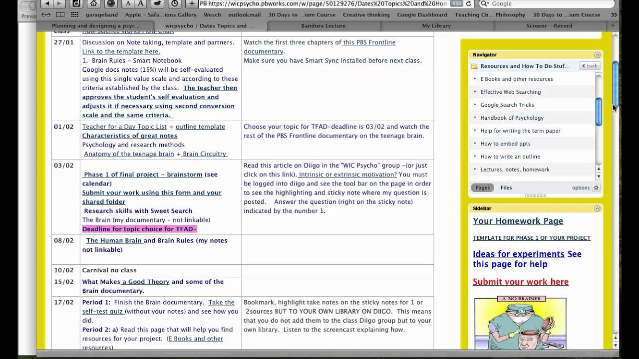 Using Diigo To Take Notes And Annotate A Web Page Part 2