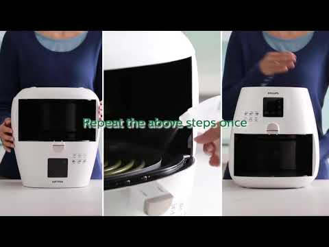 Cleaning Tutorial of Philips Airfryer vietsub