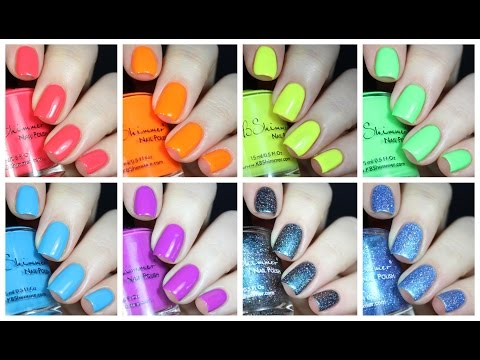 Kbshimmer All the Bright Moves Live Swatch + Review!
