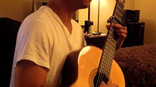 Tonight I Celebrate My Love (Peabo Bryson & Roberta Flack) - guitar