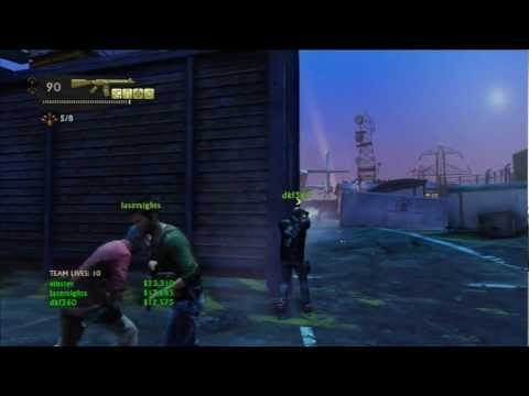 Completed Uncharted 3 Airport Co-op Crushing 3 Players Gameplay.