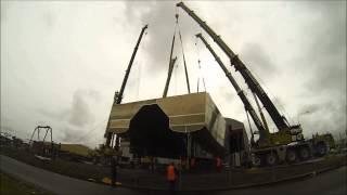 McIntosh Cranes Flip Catamaran