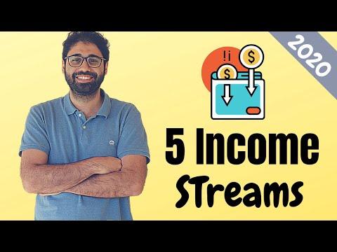 5 Smart Passive Income Streams: How I make 10K+ per month online in 2020