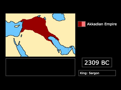 [Empires] Rise and Fall of the Akkadian Empire: Every Year