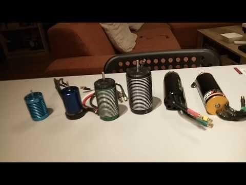 Lehner 2280 brushless motor / comparison video