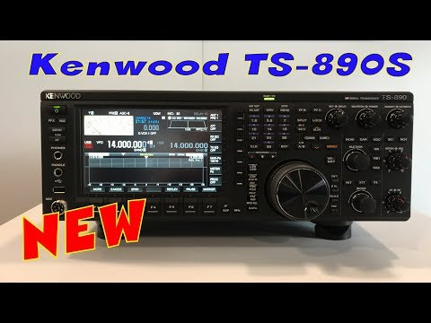 New Kenwood TS-890S HF Transceiver - YouTube