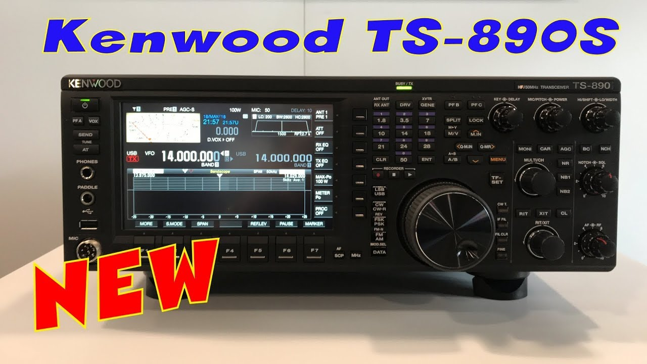 New Kenwood TS-890S HF Transceiver