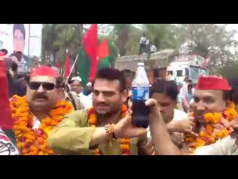 Samajwadi Party leader Brijesh Yadav