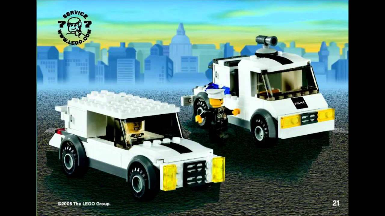 LEGO 7245 Prisoner Transport City Police (Instruction ...