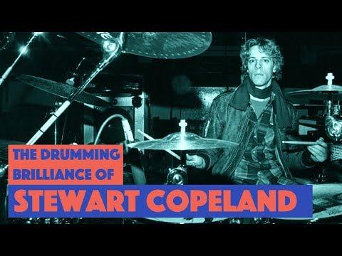 The Drumming Brilliance of Stewart Copeland