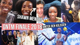 gntm 2018 finale mit shawn mendes hinter den kulissen das letzte wiedersehen 🙁 abigail