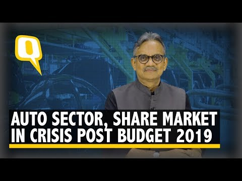 Since Budget 2019, India's Share Market & Auto Sector Isn't Doing Too Well | The Quint