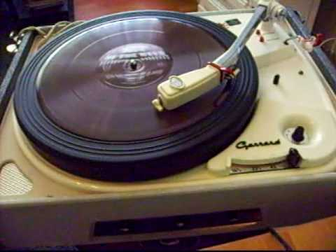 Let's have another cup of coffee - Hit of the Week/ 78rpm Garrard 4HF