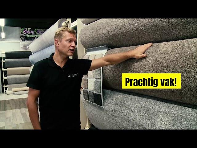 Interieurvakman Sjerk Slagmolen over tapijt
