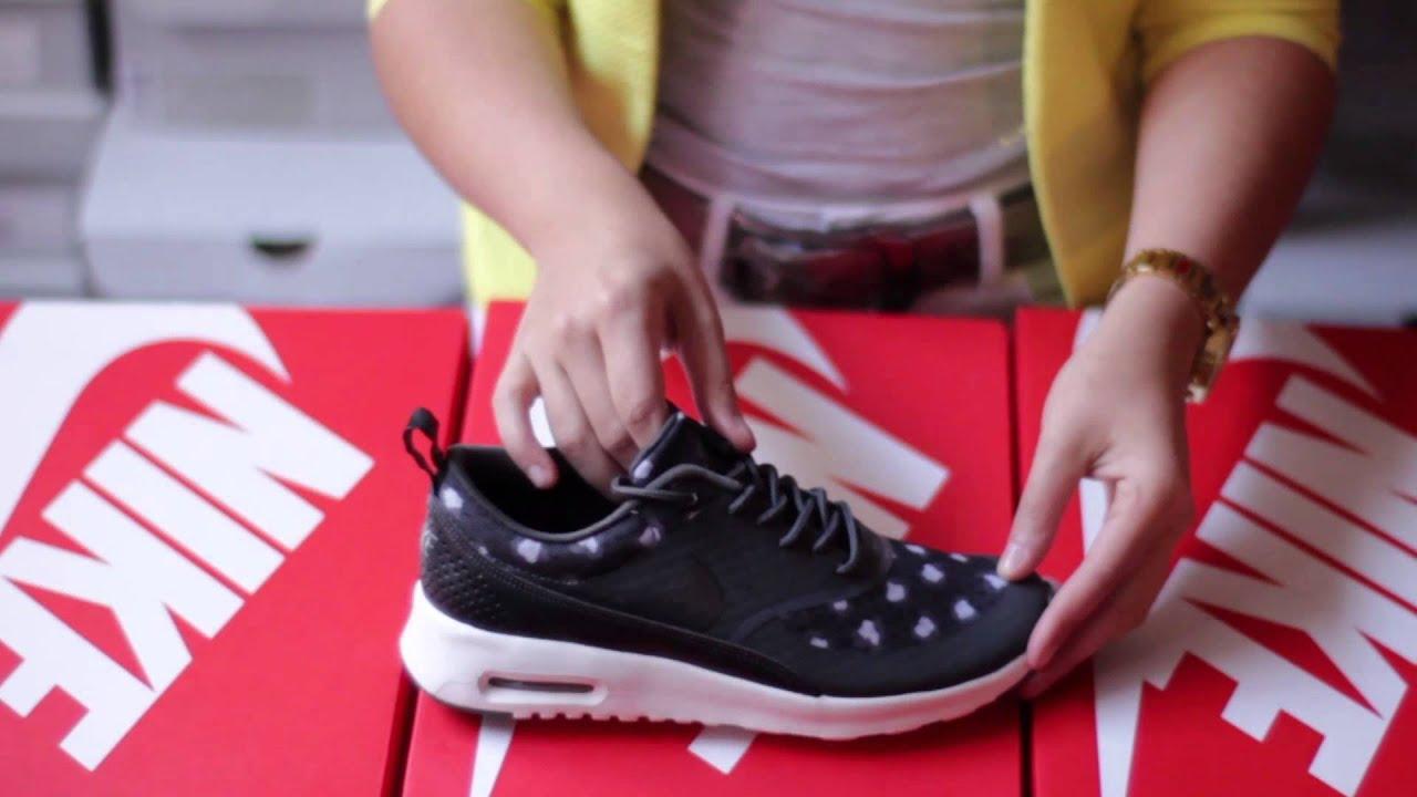 Basket Nike Air Max Thea Print Noir 599408 008 www