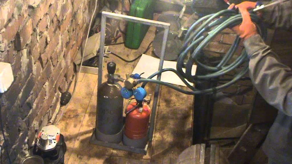 Как сделать газовую сварку