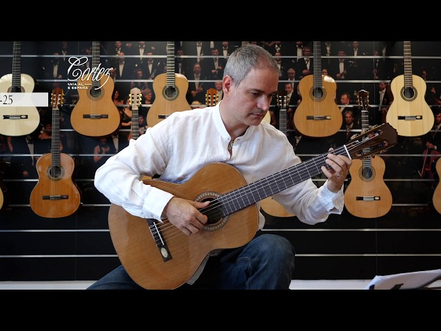 Salvador Cortez CC-25 | Chitarra classica | Guitar test by Gabriele Curciotti