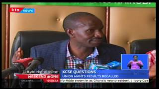 Trade Union Congress of Kenya demands for KCSE 2016 audit