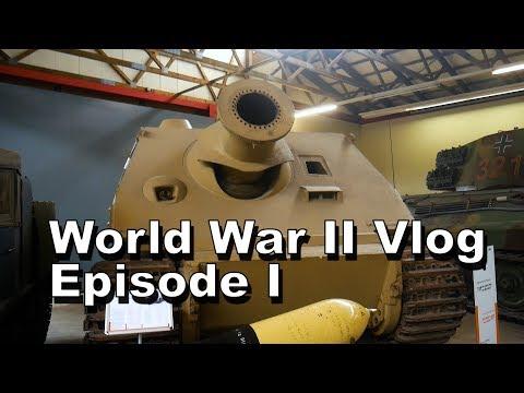 (BIGGEST TANK MUSEUM IN THE WORLD AND, DORTMUND!!!) Europe Vlog / World War II (Episode 1)