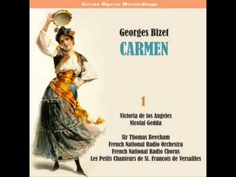 Carmen : La Cloche A Sonné... Dans L'air, Nous Suivons Des Yeux De Fumée