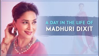 A day in the life of Madhuri Dixit   Madhuri Dixit Nene
