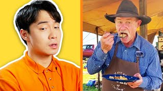 Uncle Roger Think Cowboy Fried Rice SO WEIRD (Kent Rollins)