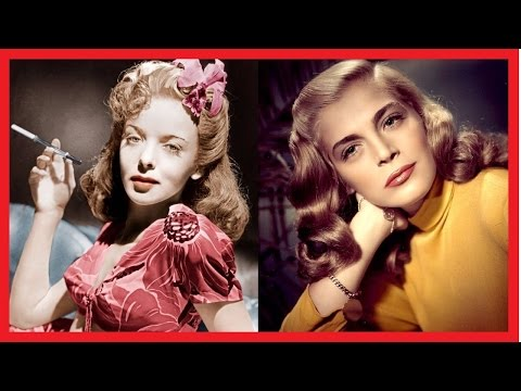 28 ACTRESSES FROM THE GOLDEN AGE OF HOLLYWOOD/CINEMA