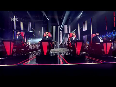 "Mentori: ""Everybody Needs Somebody"" - The Voice of Croatia - Season 2 - Blind Auditions 1"
