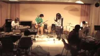 2008☆村大忘年会 妖怪猫大蛇② 鉄筋のごあいさつ.