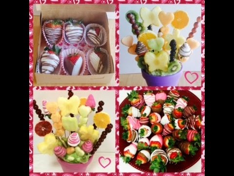 CHOCOLATE COVERED STRAWBERRIES and EDIBLE ARRANGEMENTS - A BAKER'S OBSESSION