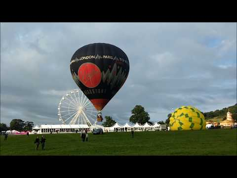 Bristol International Balloon Fiesta 2017 with music from bensound