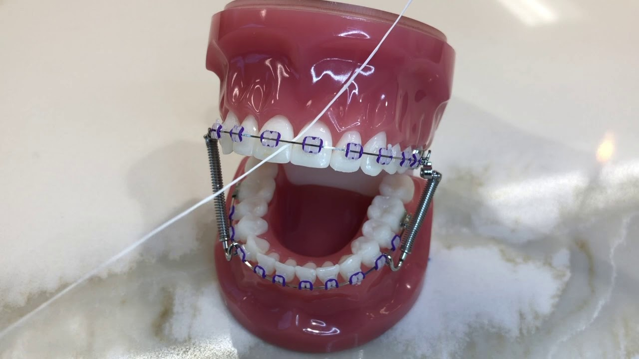 How to Use a Floss Threader