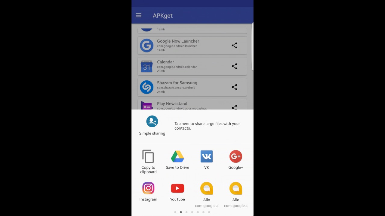 APKget - simple tool for APK extraction