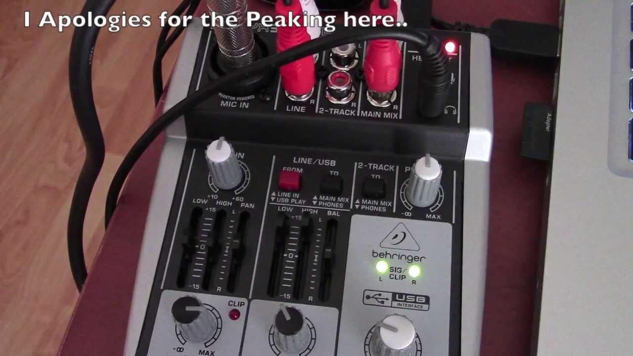 Behringer Xenyx 302usb Portable Sound Mixer - Review