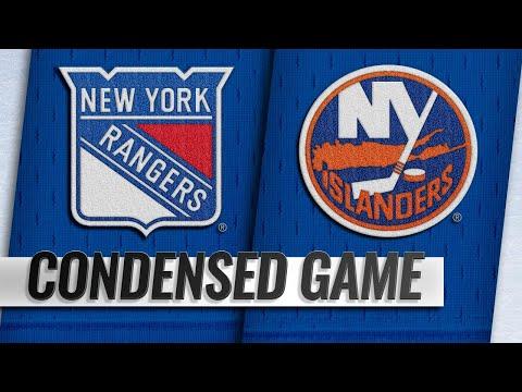 01/12/19 Condensed Game: Rangers @ Islanders