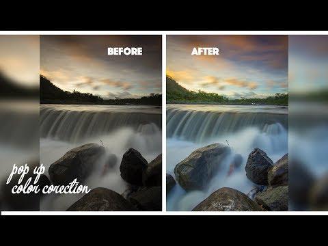 Landscape Editing Tutorial Photoshop