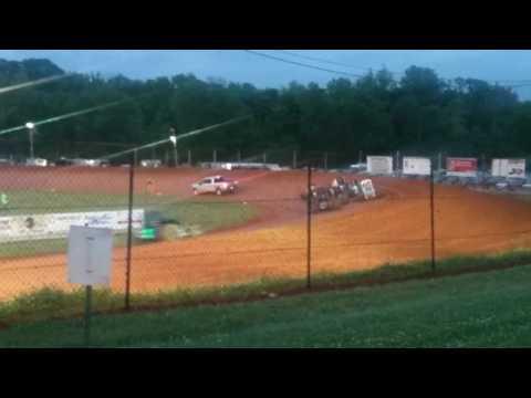Sprint Car B Main #1  Bloomington Speedway