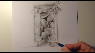 Speed Drawing: Jar Of Olives