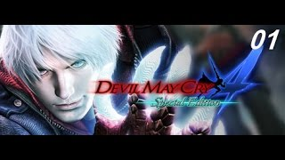 Devil May Cry 4   Special Edition Walkthrough Gameplay mission 01