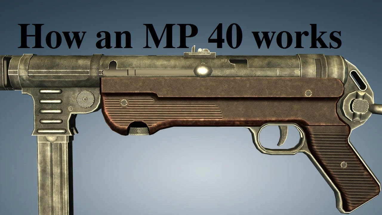 How an MP 40 works - YouTube