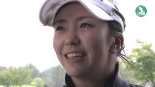 2014『ABCレディース』 堀 琴音 優勝インタビュー 堀琴音 検索動画 22