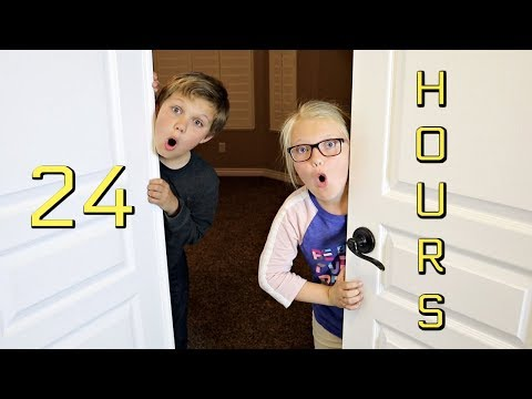 24 HOURS IN OUR PARENTS' ROOM!