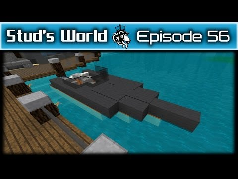 Minecraft Race Boat and Jet Skis - Stud's World - 56