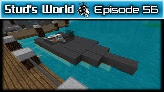 Minecraft Race Boat and Jet Skis - Stud